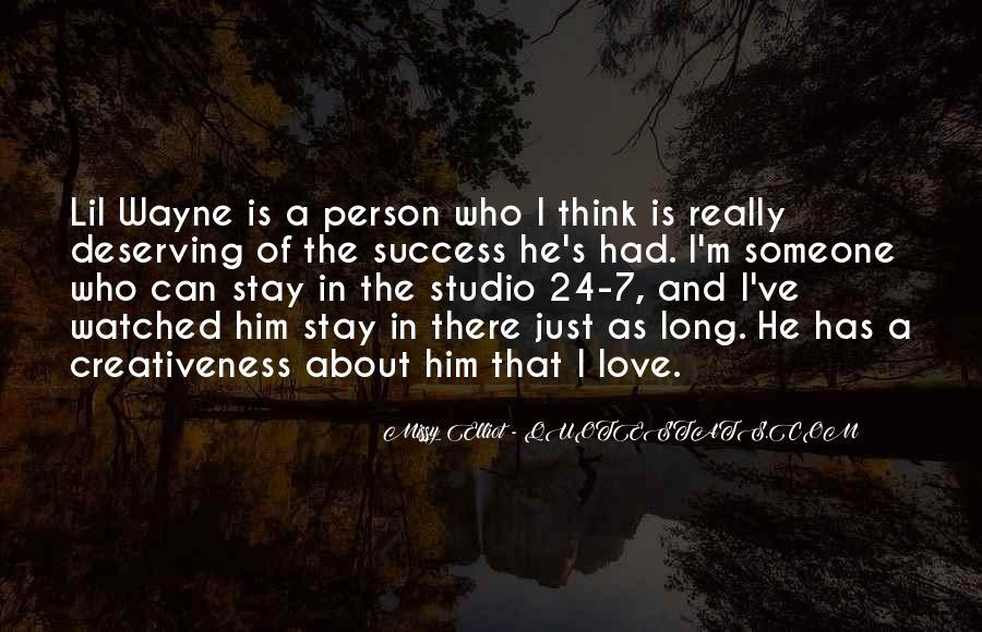Lil Wayne No Love Quotes #896576
