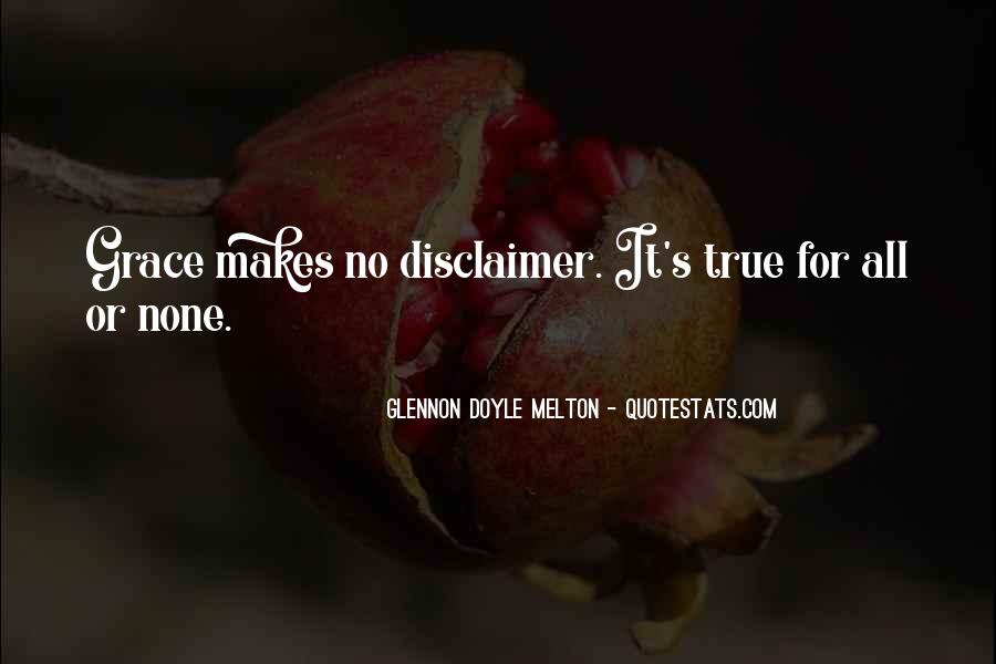 Quotes About Disclaimer #1180815