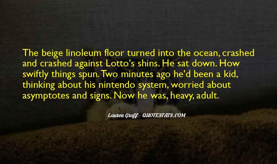 Linoleum Quotes #1518631