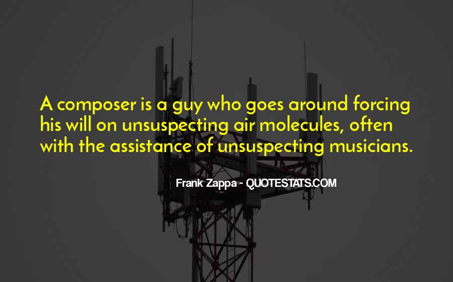 Quotes About Unsuspecting #1261491