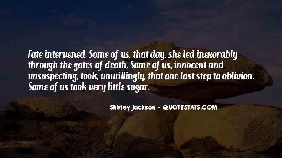 Quotes About Unsuspecting #217308