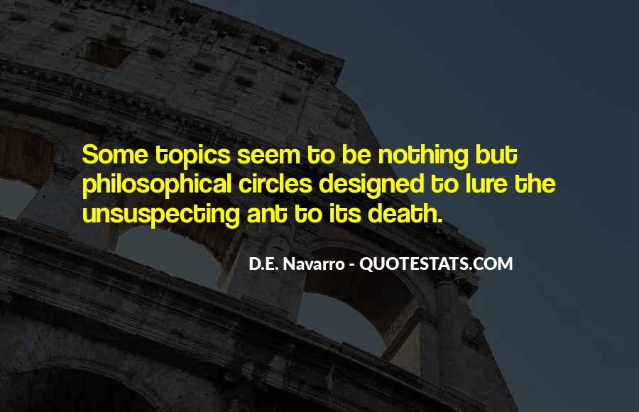 Quotes About Unsuspecting #569279