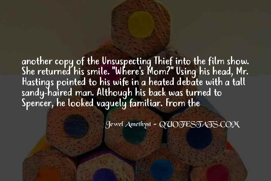 Quotes About Unsuspecting #990422