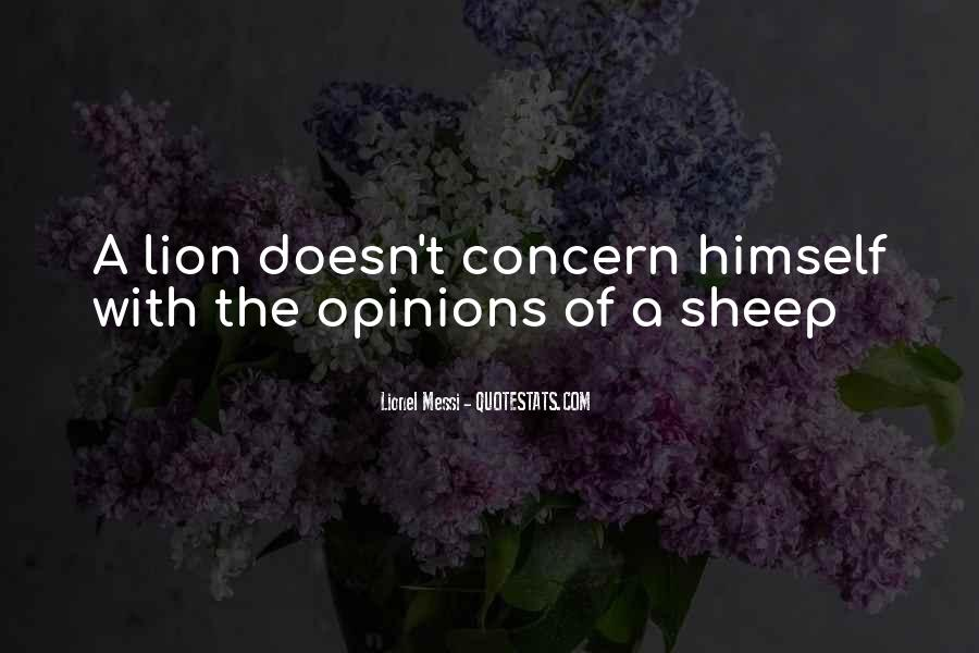 Lions Vs Sheep Quotes #875039