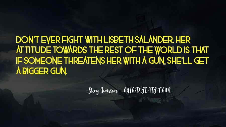 Lisbeth Quotes #1531674