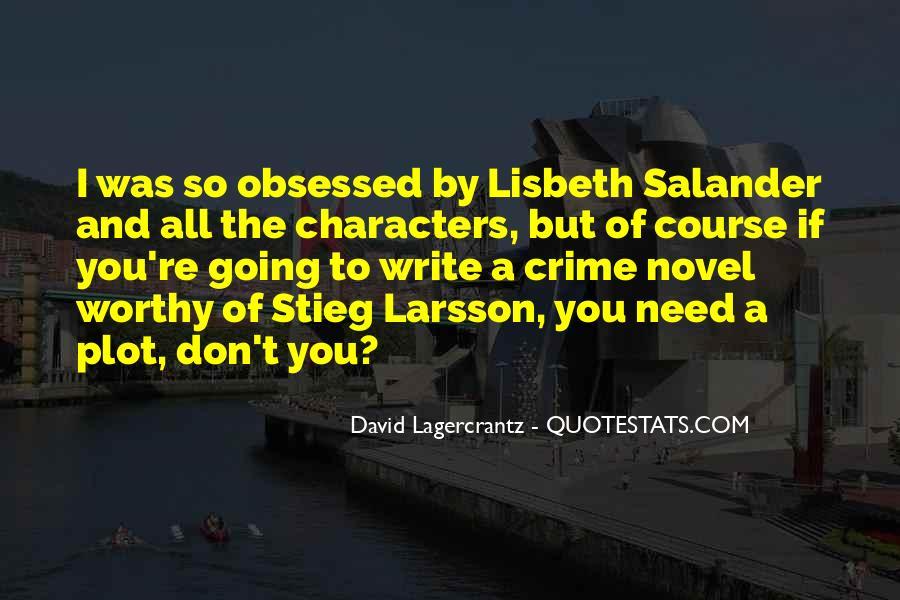 Lisbeth Quotes #869496