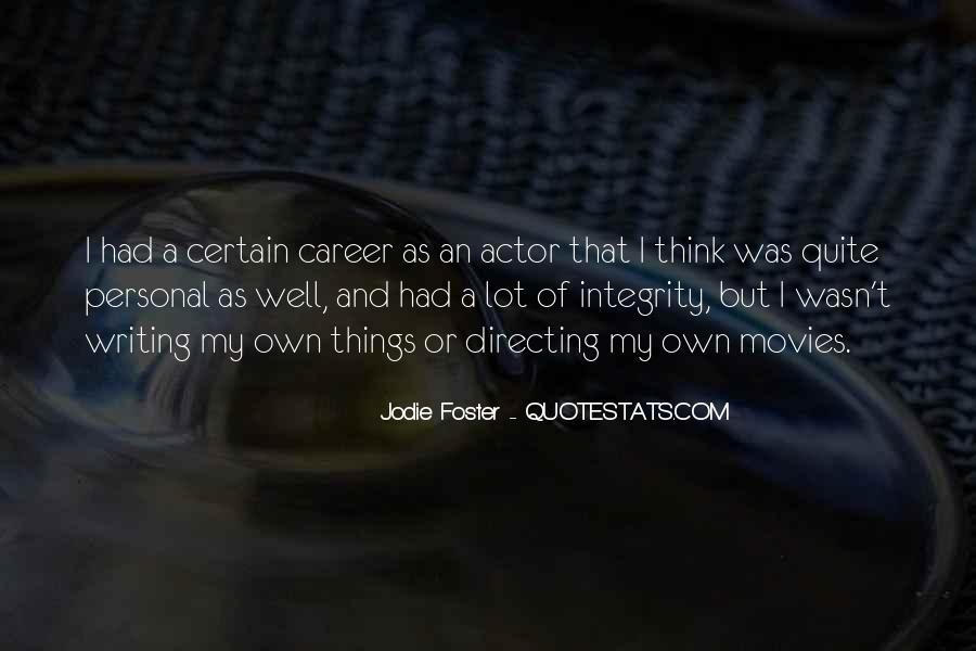 Quotes About Directing Movies #1007471