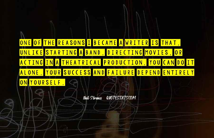 Quotes About Directing Movies #1106222
