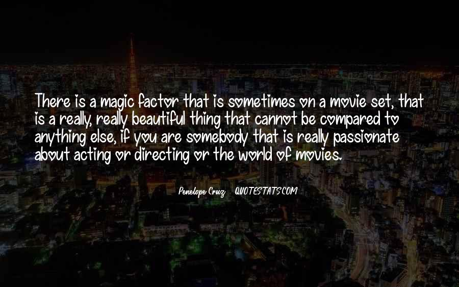 Quotes About Directing Movies #266603