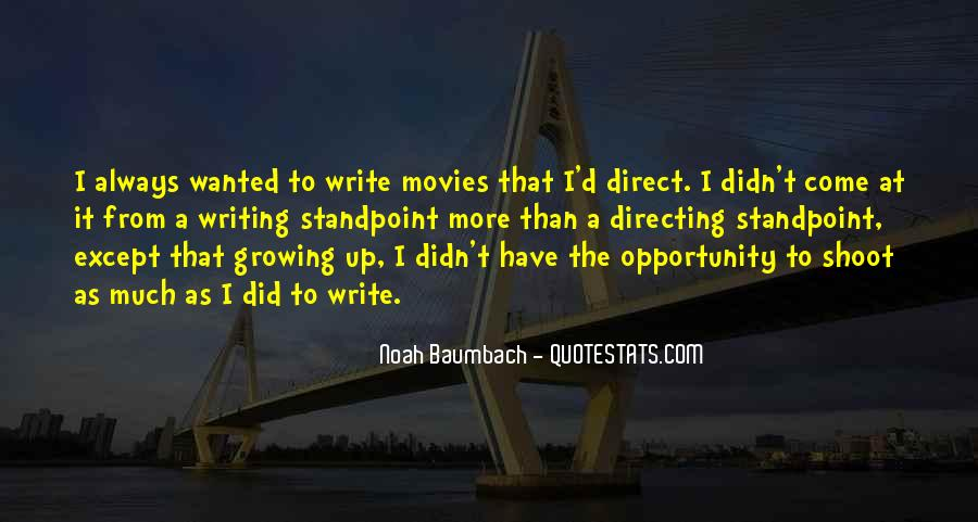 Quotes About Directing Movies #44086