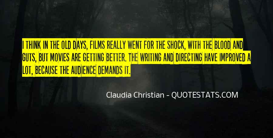 Quotes About Directing Movies #662226