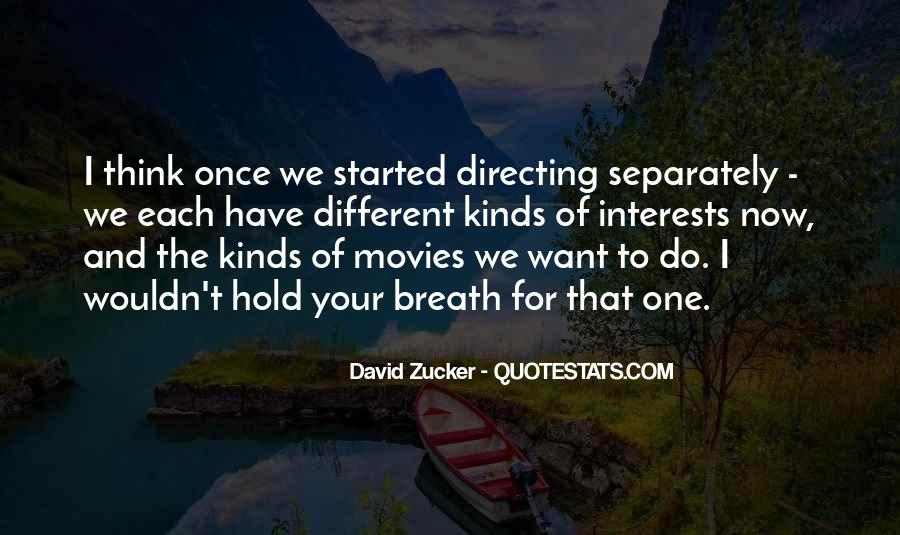 Quotes About Directing Movies #74101