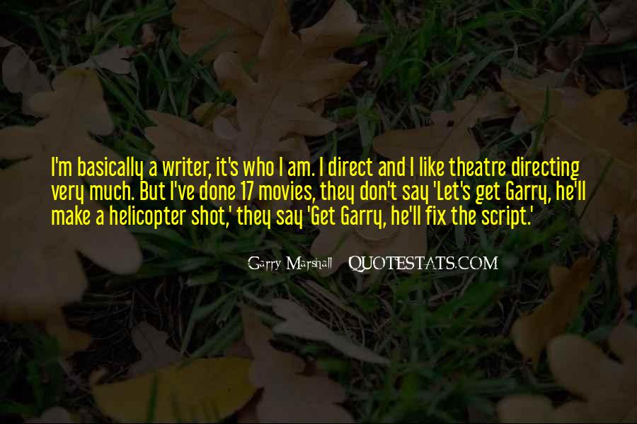 Quotes About Directing Movies #888066