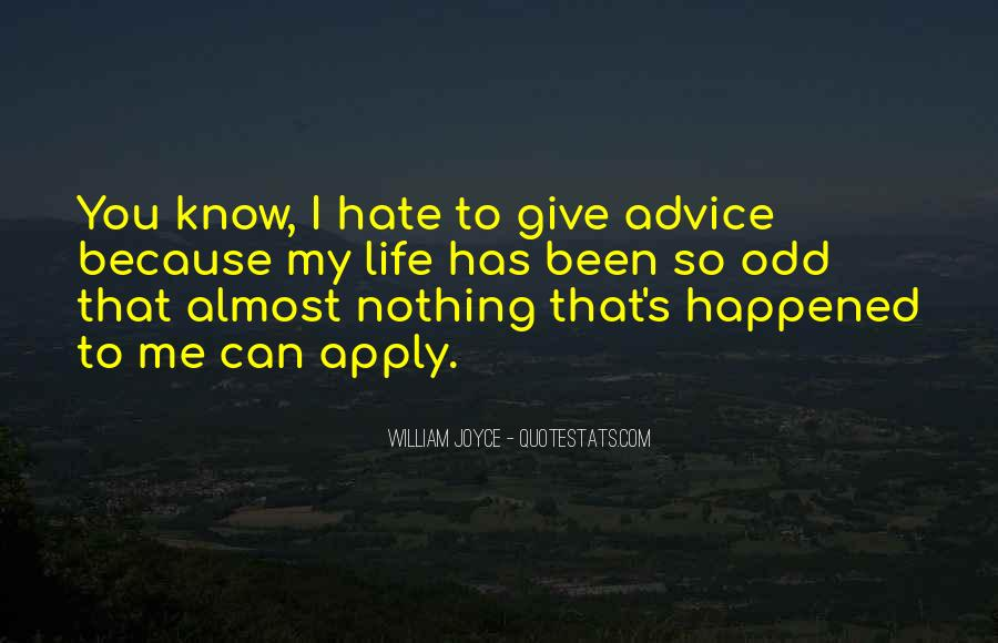 Listen Amaya Quotes #1494403