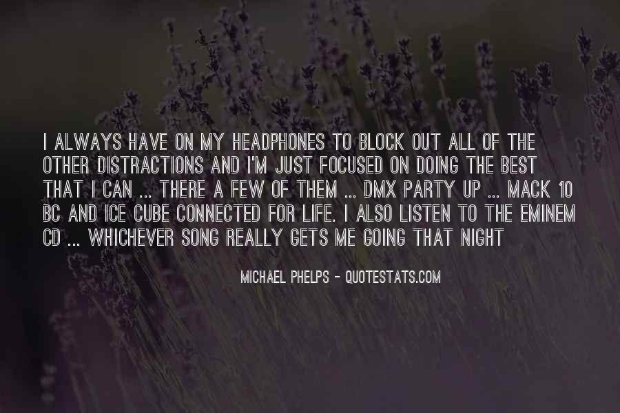 Listen Song Quotes #189527