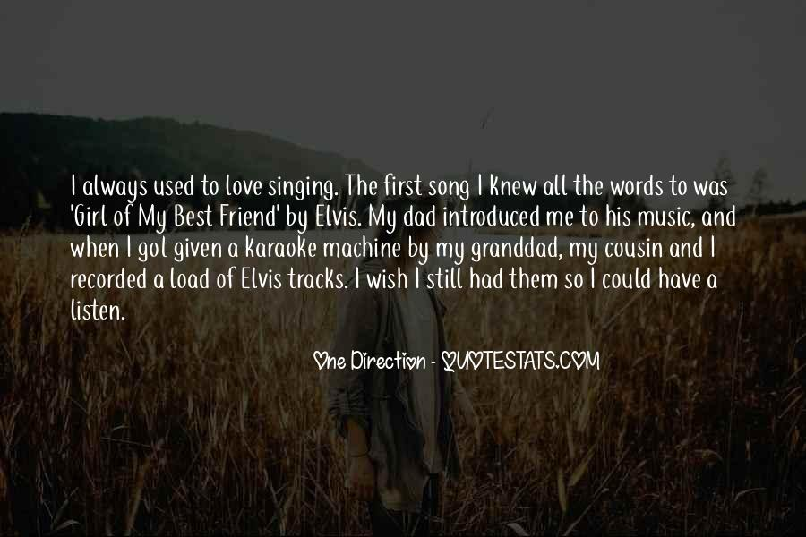 Listen Song Quotes #273751