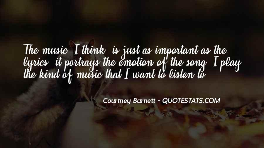 Listen Song Quotes #286873