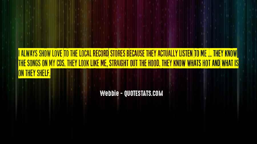 Listen Song Quotes #336442