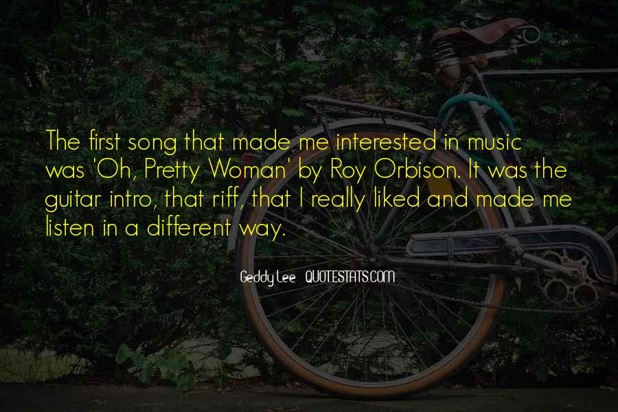 Listen Song Quotes #448976