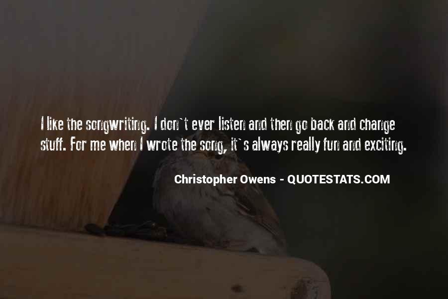 Listen Song Quotes #555043