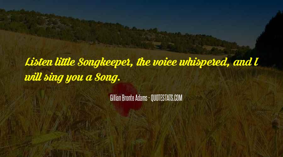 Listen Song Quotes #647286