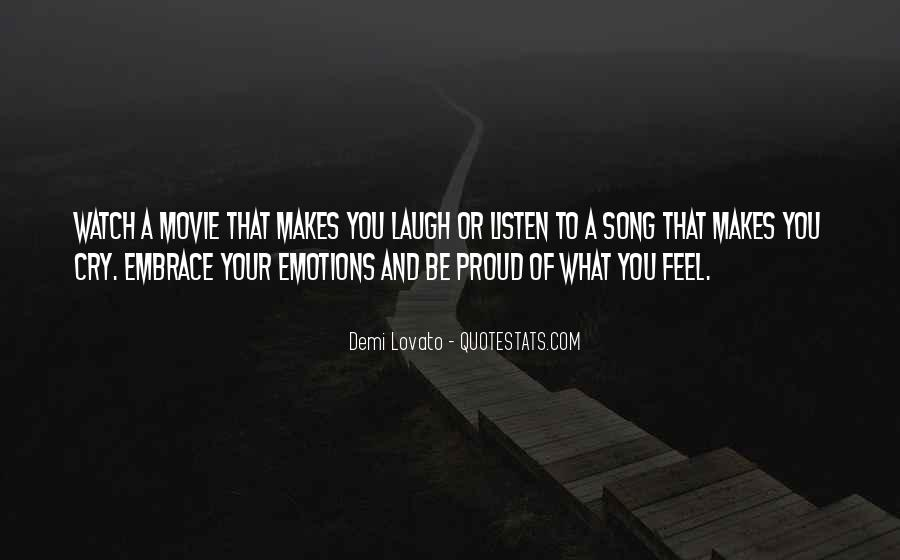 Listen To Song Quotes #106387