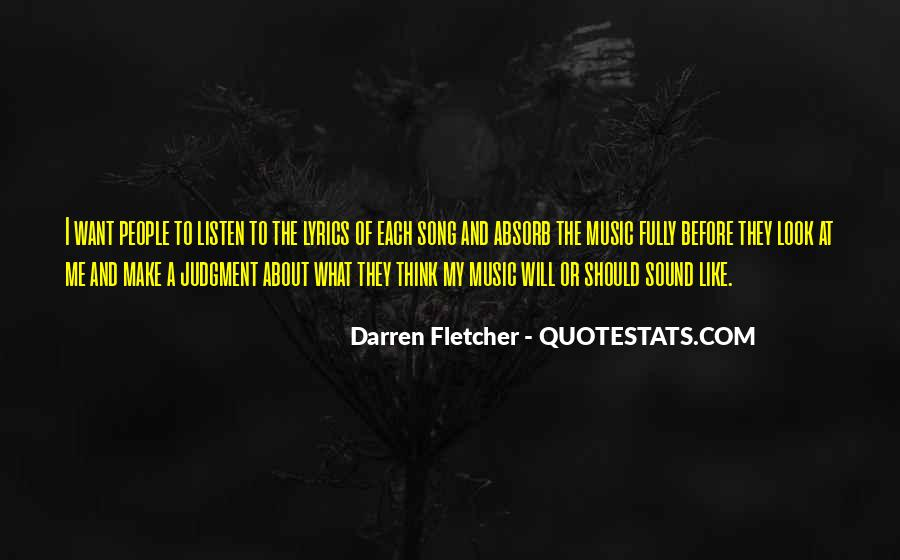Listen To Song Quotes #110382
