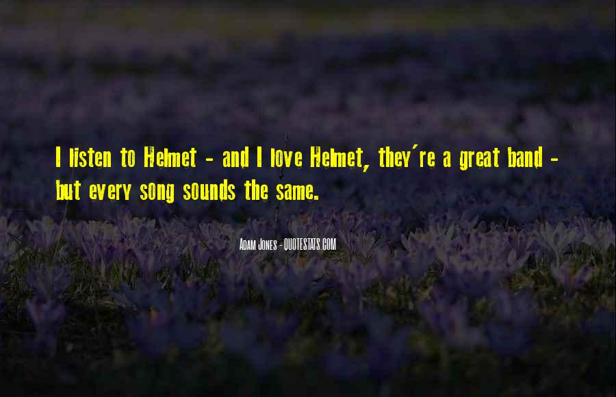 Listen To Song Quotes #180752