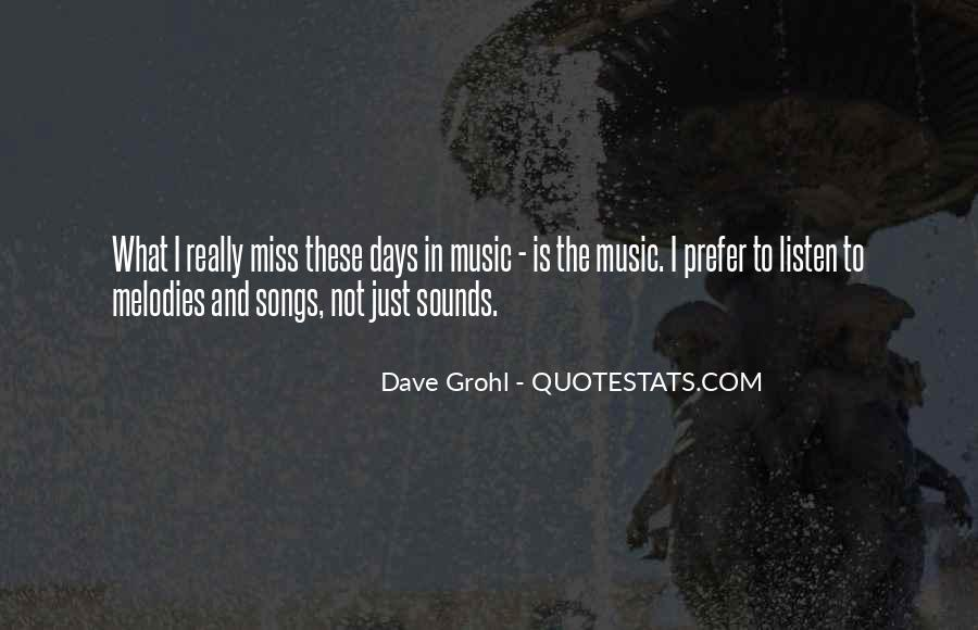 Listen To Song Quotes #247615