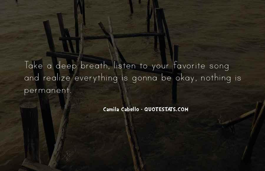 Listen To Song Quotes #285033