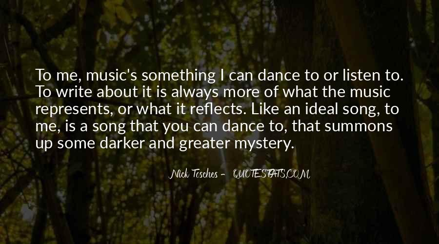 Listen To Song Quotes #289051