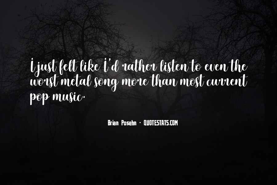 Listen To Song Quotes #484571