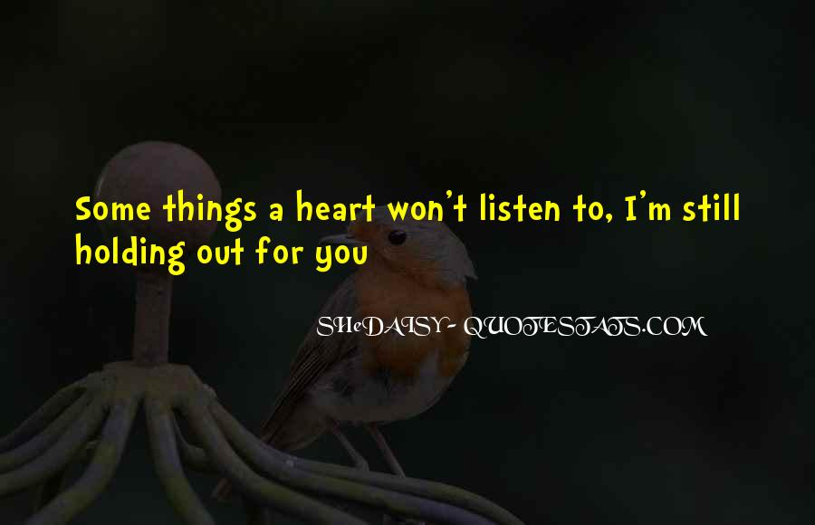 Listen To Song Quotes #490108