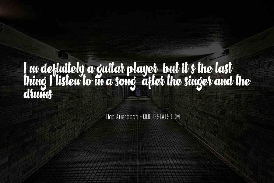 Listen To Song Quotes #494965