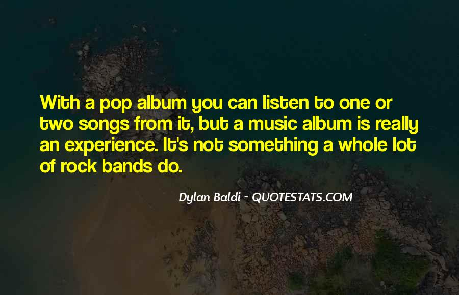 Listen To Song Quotes #496030