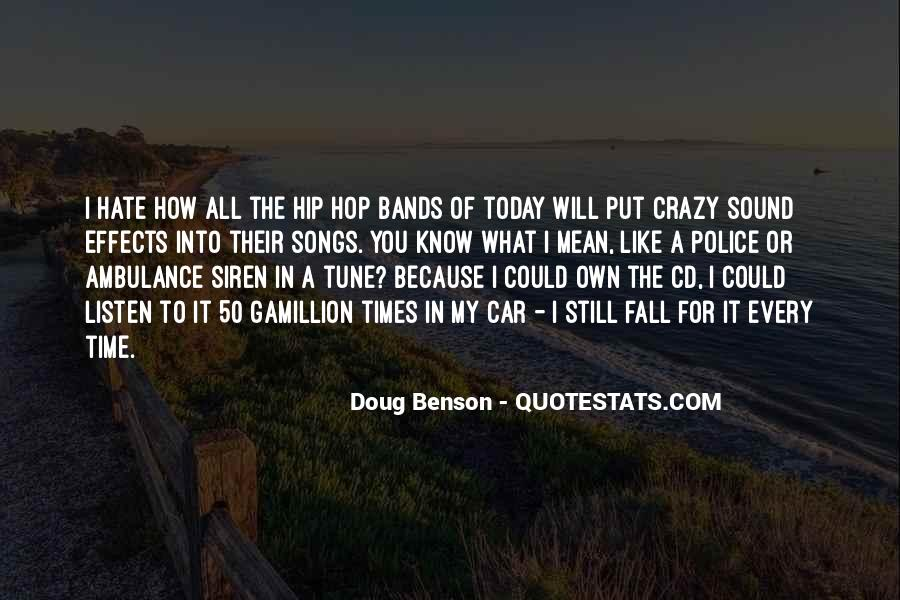 Listen To Song Quotes #520817