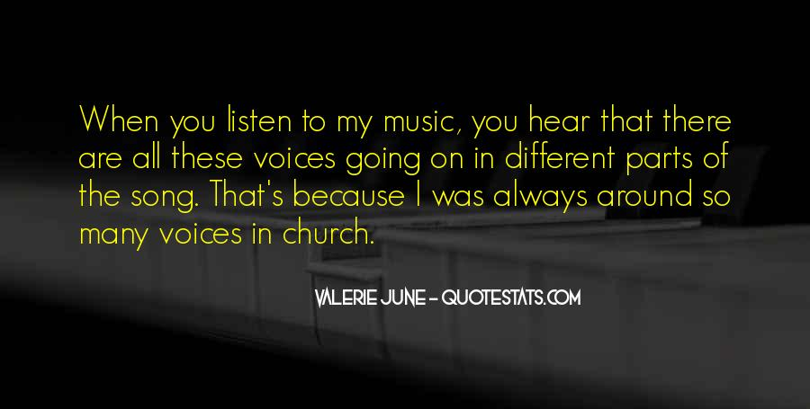 Listen To Song Quotes #668666