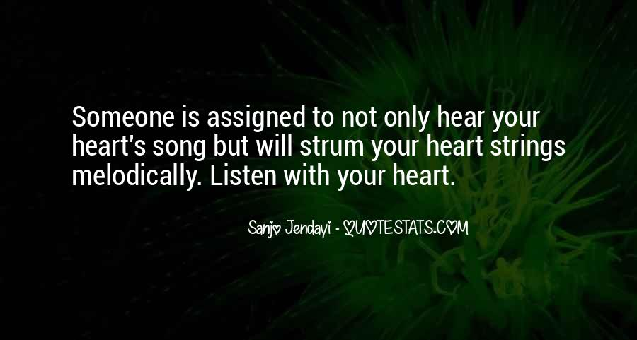 Listen To Song Quotes #669005