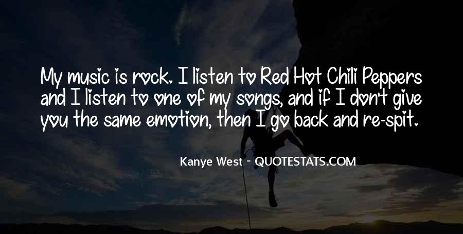 Listen To Song Quotes #675647
