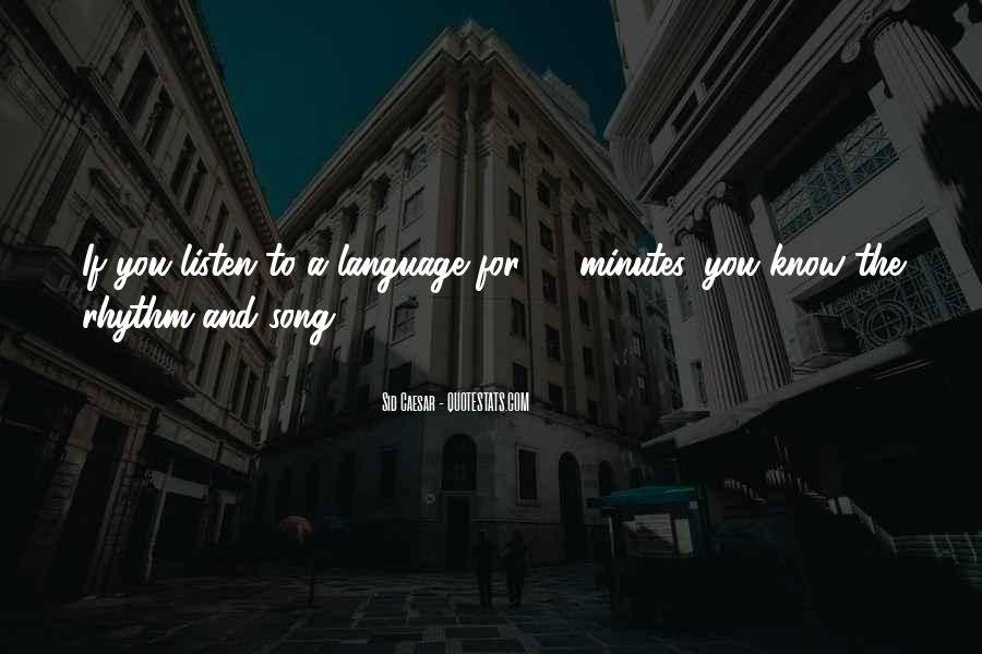 Listen To Song Quotes #710477