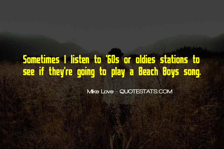 Listen To Song Quotes #753226