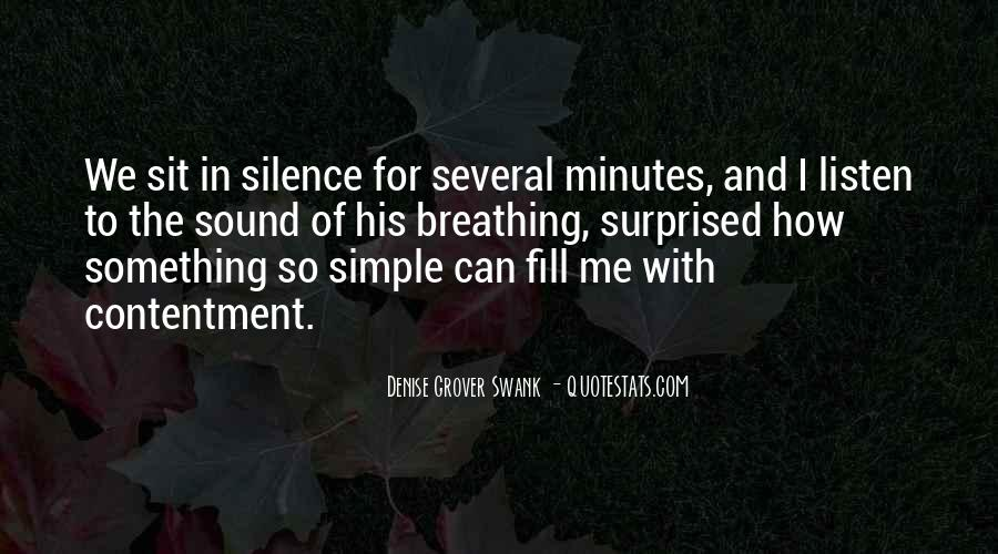 Listen To The Sound Of Silence Quotes #137926