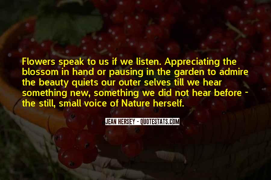 Listen To Your Own Voice Quotes #6057