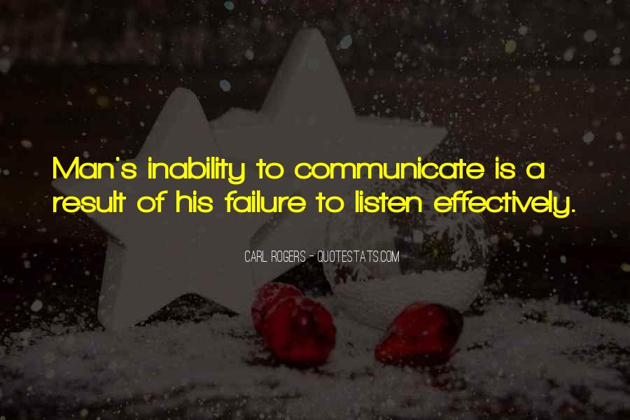 Listening Effectively Quotes #964189
