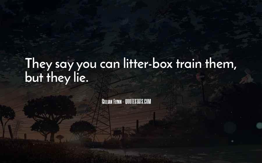 Litter Box Quotes #490447