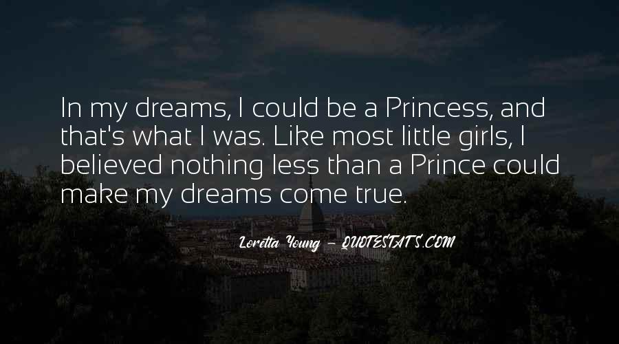 Little Prince And Princess Quotes #1434393