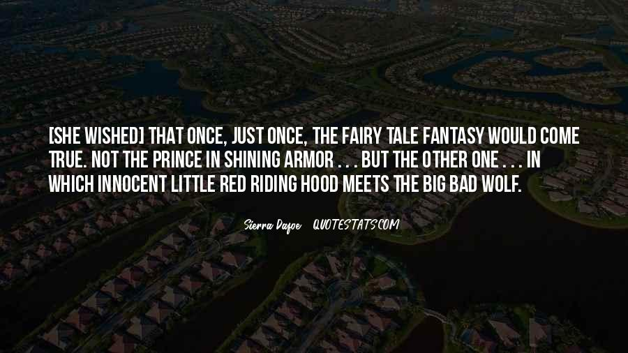 Little Red Riding Hood Dark Quotes #1357733