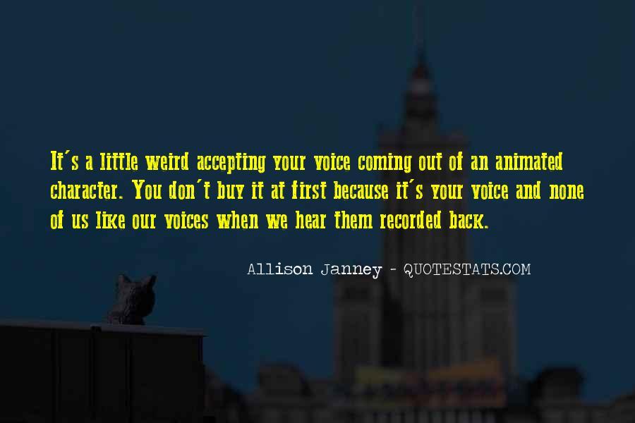 Little Voices Quotes #1000867