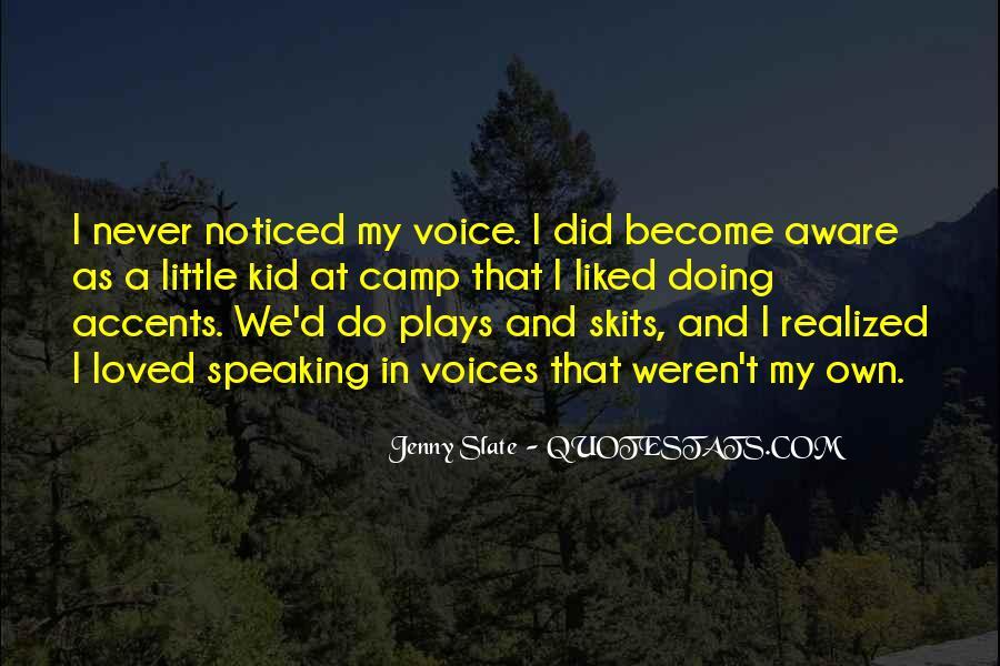 Little Voices Quotes #1285415
