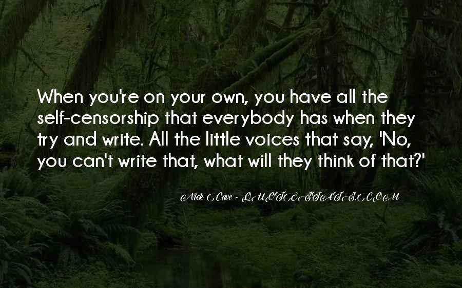 Little Voices Quotes #148848
